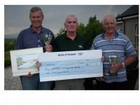 Robert Paul (heaviest fish) Tommy Mc Grath Moyola Anglers and William mc Guckin (best boat)