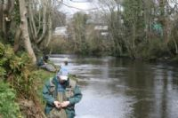 Anglers in action at the recent competition