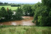 Flooding like this could speed up the erosion problem