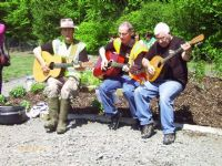 Moyola musicians at the Castledawson 'Breathing Space' project