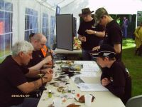 Fly tying at the 2007 Open Day