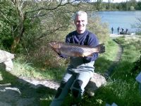 Willie Darragh with a superb trout