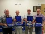 Club Trustees Philip Maguire, Norman Doherty, Maurice Dorrity and Kenny mc cracken