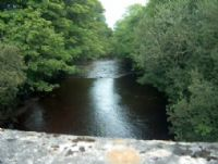 The view of the Moyola at Weddlebridge