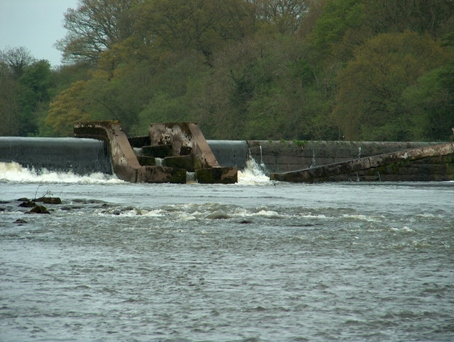Fish Pass at Carnroe on the River Bann